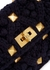 Valentino Garavani Roman Stud small knitted shoulder bag - Valentino
