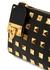 Valentino Garavani Rockstud black leather wallet - Valentino