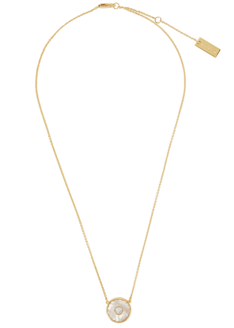 The Medallion gold-tone necklace