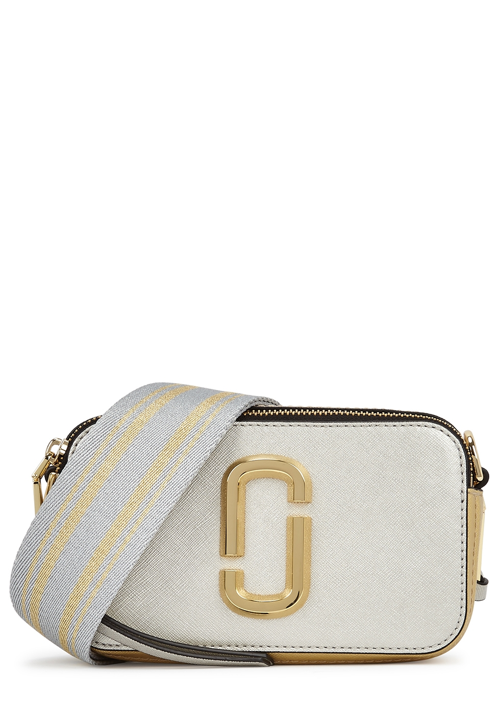 The Snapshot Small leather cross-body bag
