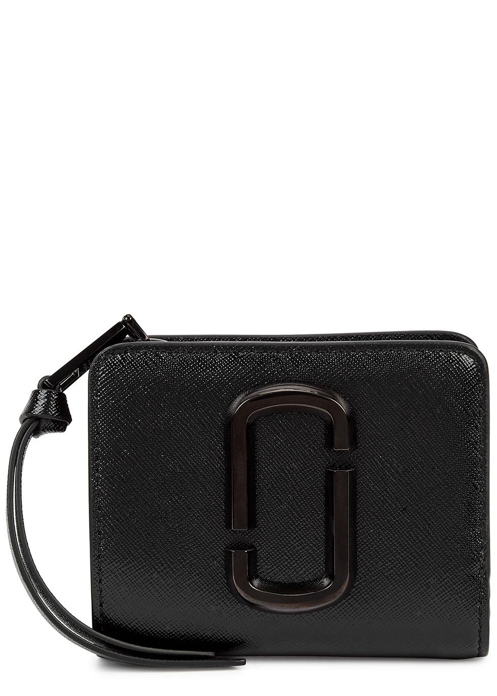 Snapshot DTM black leather wallet