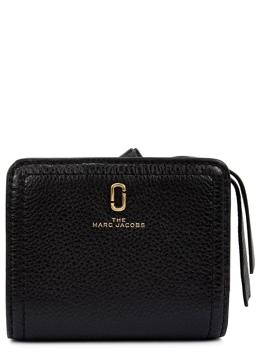 The Softshot black leather wallet