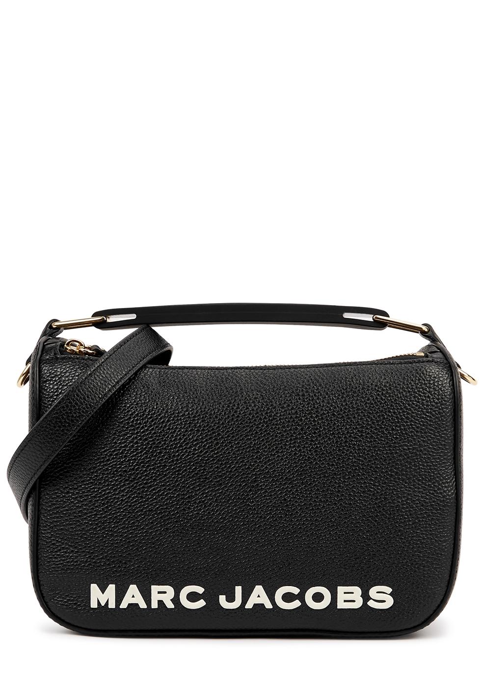 The Soft Box 23 black leather cross-body bag