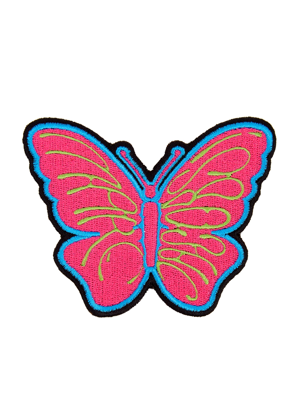 The Butterfly embroidered patch
