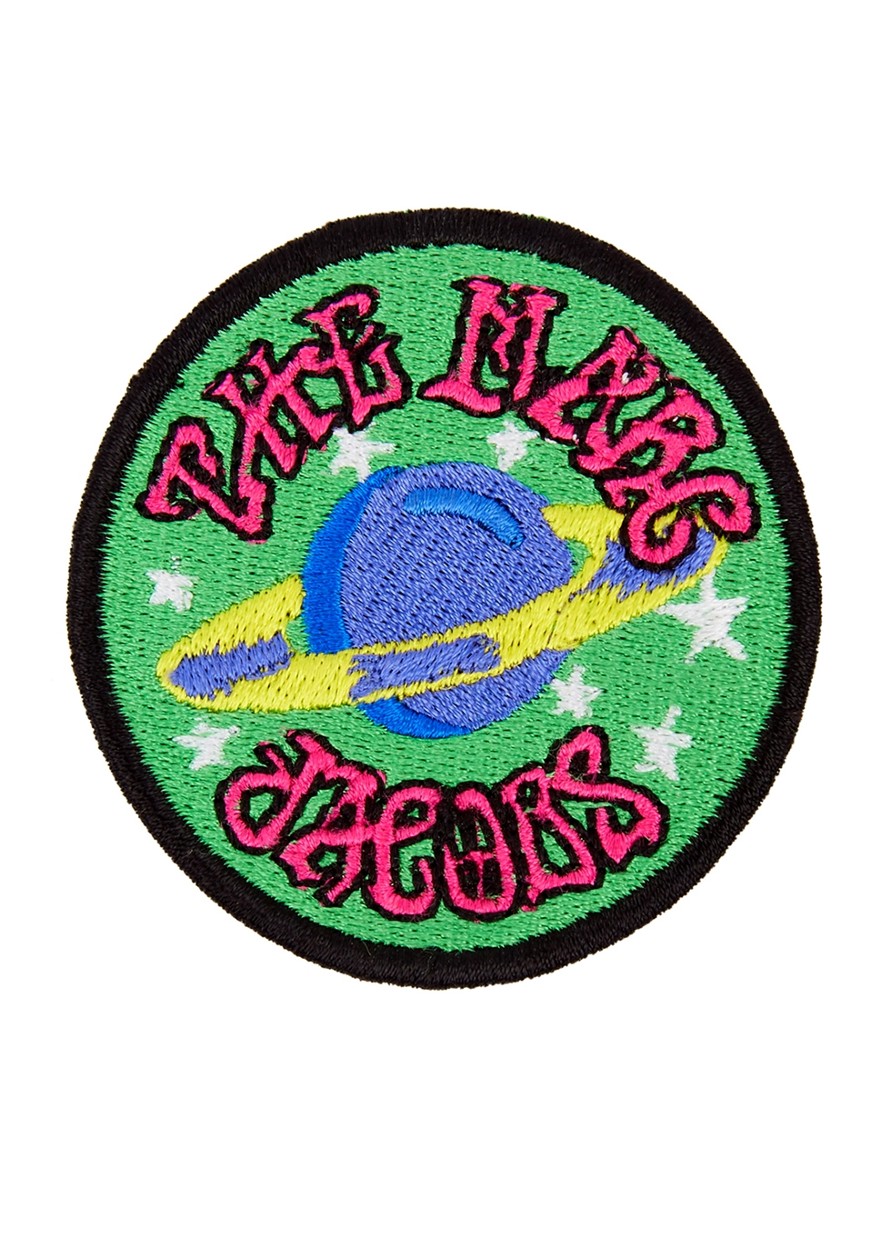 The Planet embroidered patch