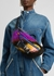 Striped fleece belt bag - Stella McCartney