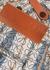 Striped logo-jacquard cotton shorts - Loewe