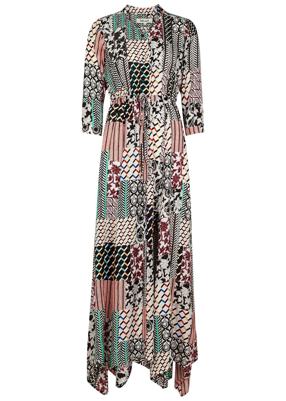 Lily printed maxi dress