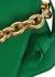 The Mount small green leather shoulder bag - Bottega Veneta