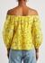Alta floral-print cotton-blend blouse - Alice + Olivia
