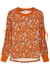 Charlotte floral-print cotton sweatshirt - Alice + Olivia