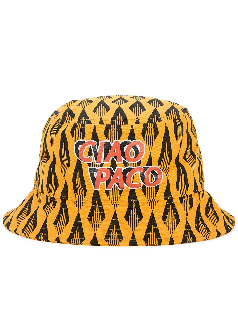 Ciao Paco printed cotton bucket hat