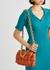 The Chain Cassette rust leather cross-body bag - Bottega Veneta
