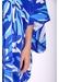 Gods smile maxi kaftan in blue floral print - Traffic People