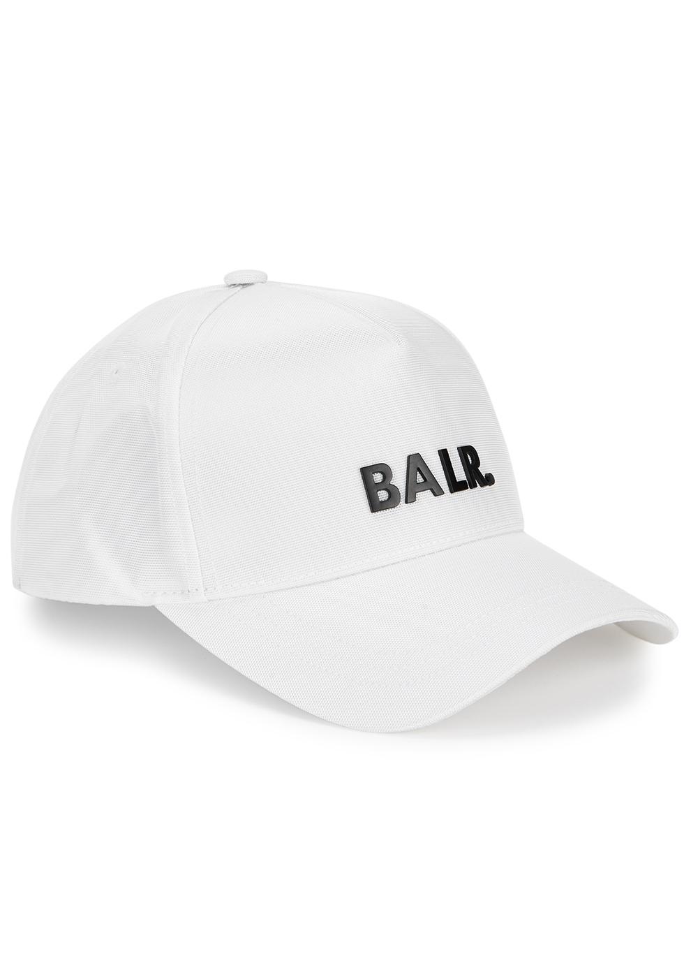 White logo canvas cap
