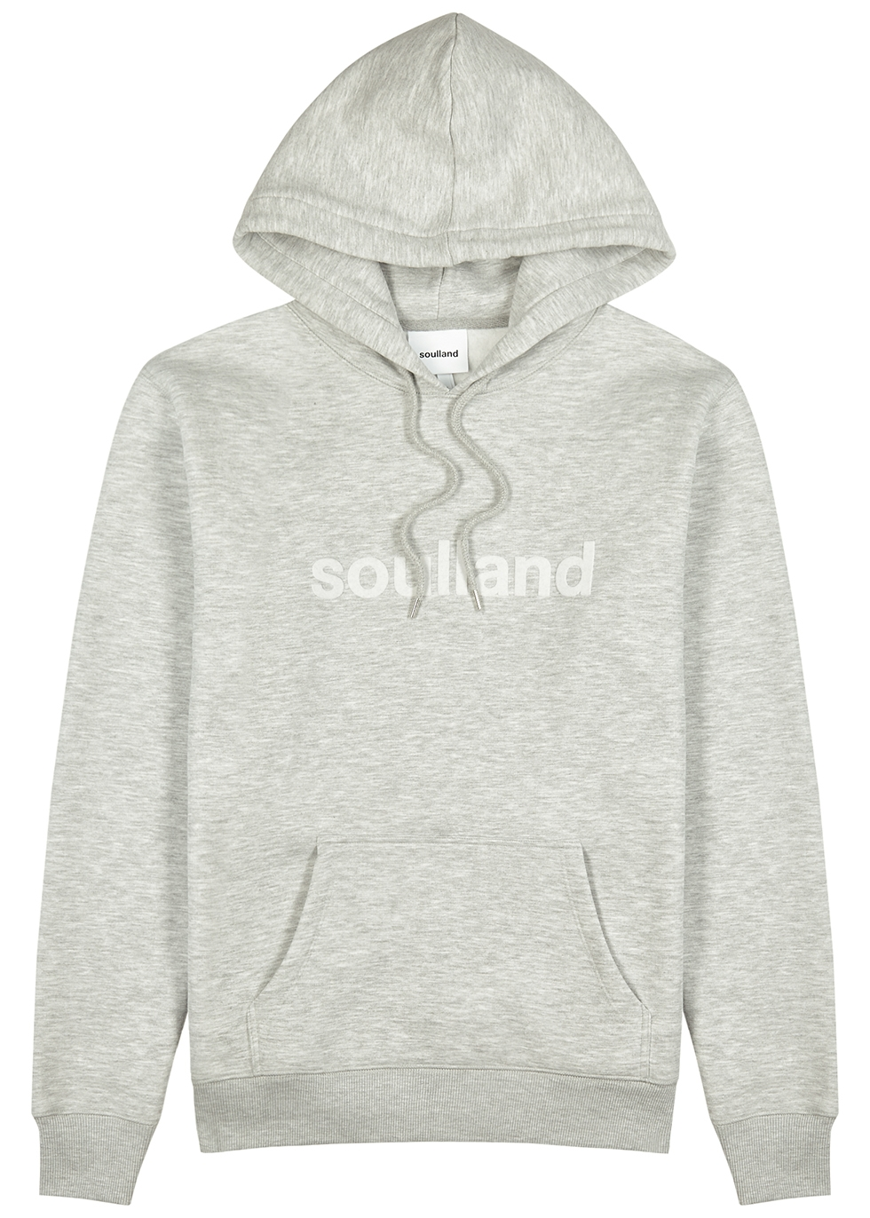 Googie grey hooded jersey sweatshirt
