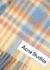 Vally tartan alpaca-blend blanket scarf - Acne Studios