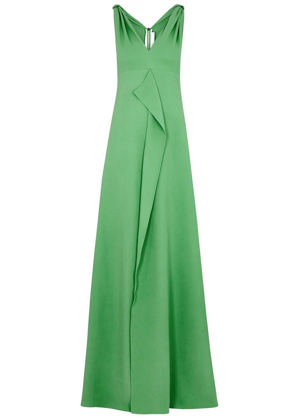 Fuller green cady gown