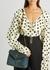 Loulou Puffer small teal suede shoulder bag - Saint Laurent