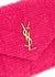 LouLou Puffer mini pink tweed cross-body bag - Saint Laurent