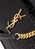 Sunset crocodile-effect leather shoulder bag - Saint Laurent