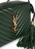Lou dark green leather cross-body bag - Saint Laurent