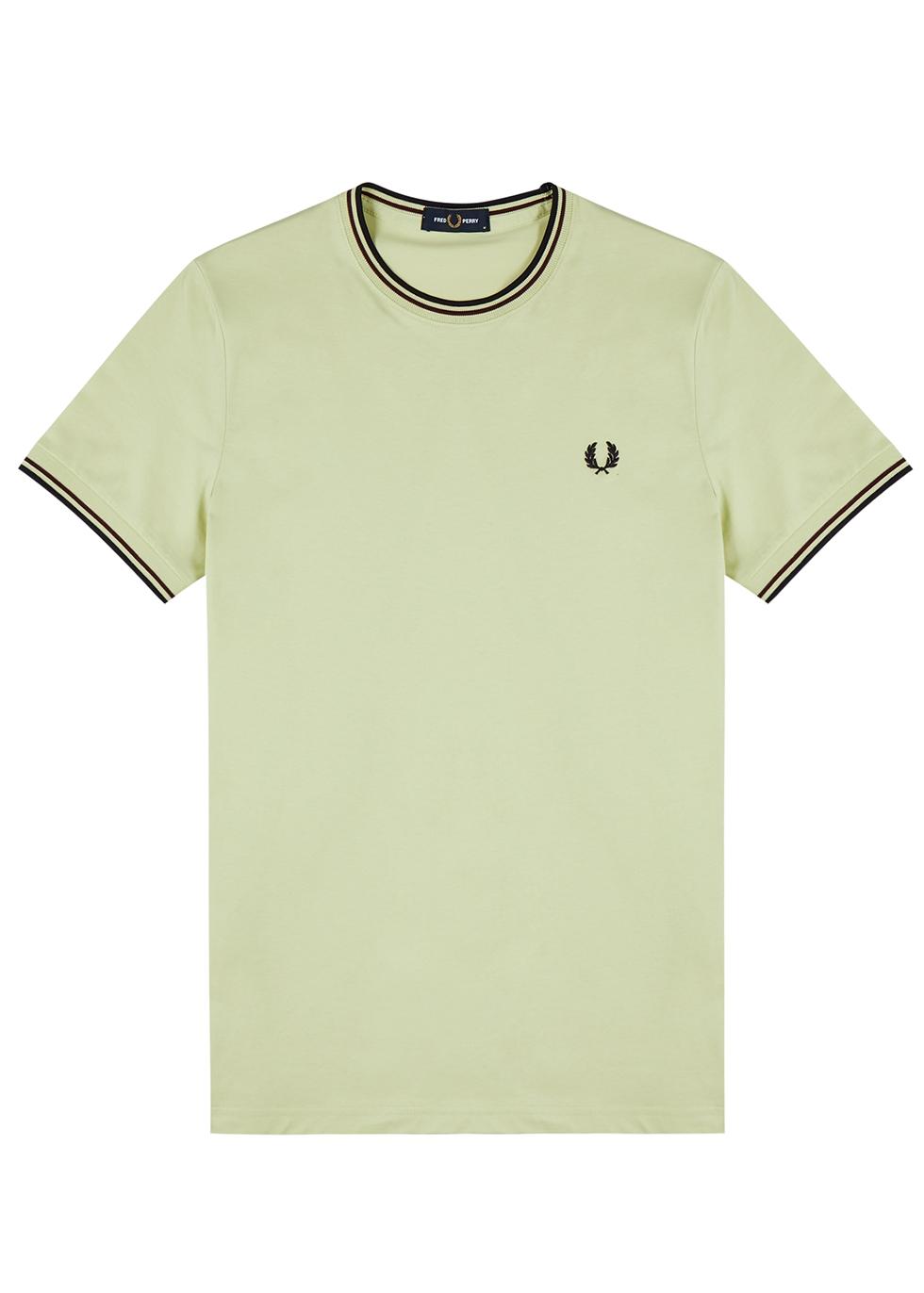 M1588 lime cotton T-shirt