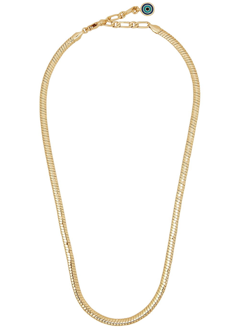 Mavi 14kt gold-dipped chain necklace
