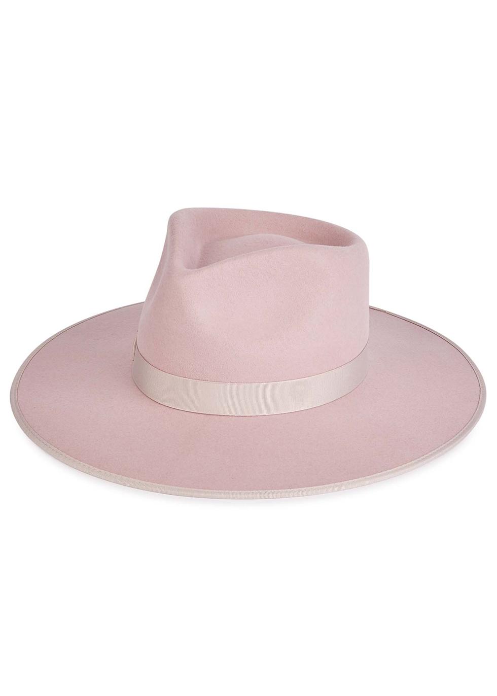 Dream Rancher pink wool felt fedora