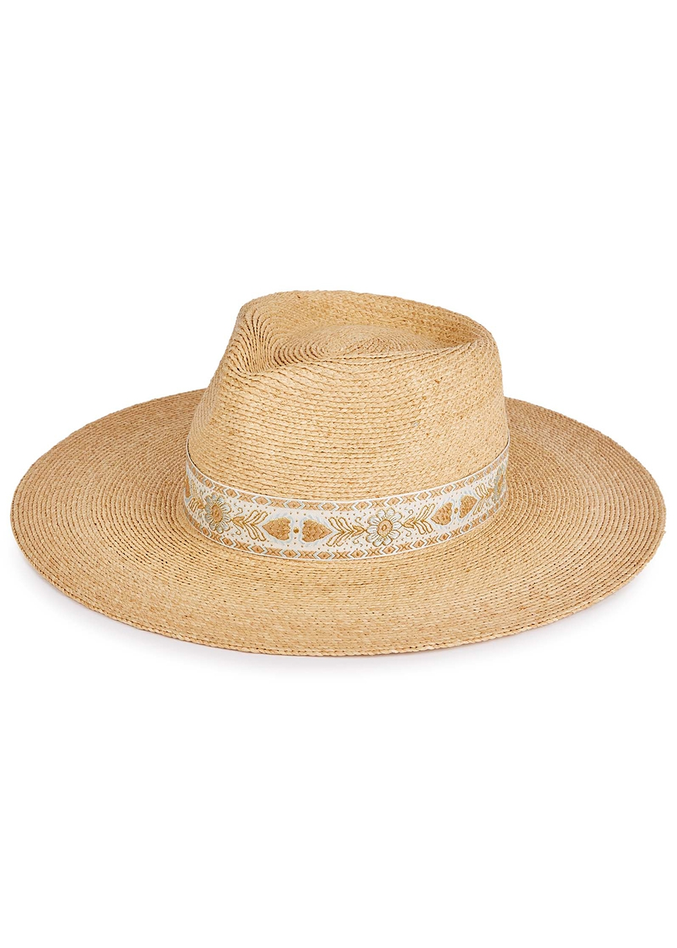 Indio Special sand woven straw fedora