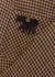 Checked linen blazer - Gucci