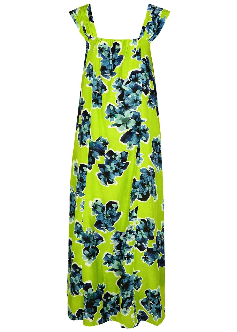 Rossetti floral-print cotton-blend maxi dress