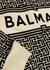 Cream monogrammed cotton sweatshirt - Balmain