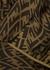 FF monogrammed silk shorts - Fendi