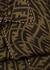 FF monogrammed silk shirt - Fendi