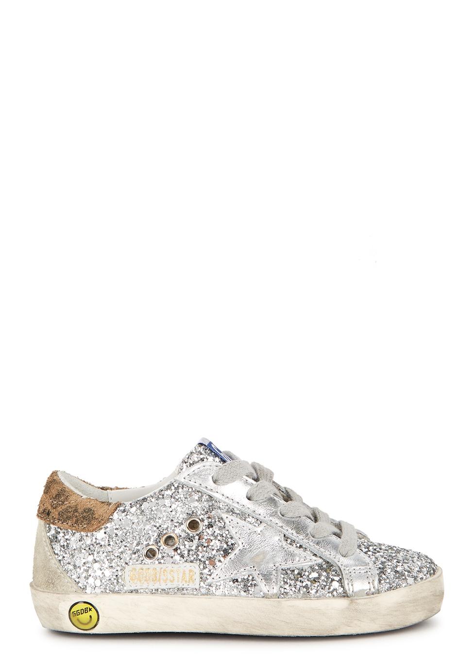 Superstar glittered sneakers (IT22-IT27)