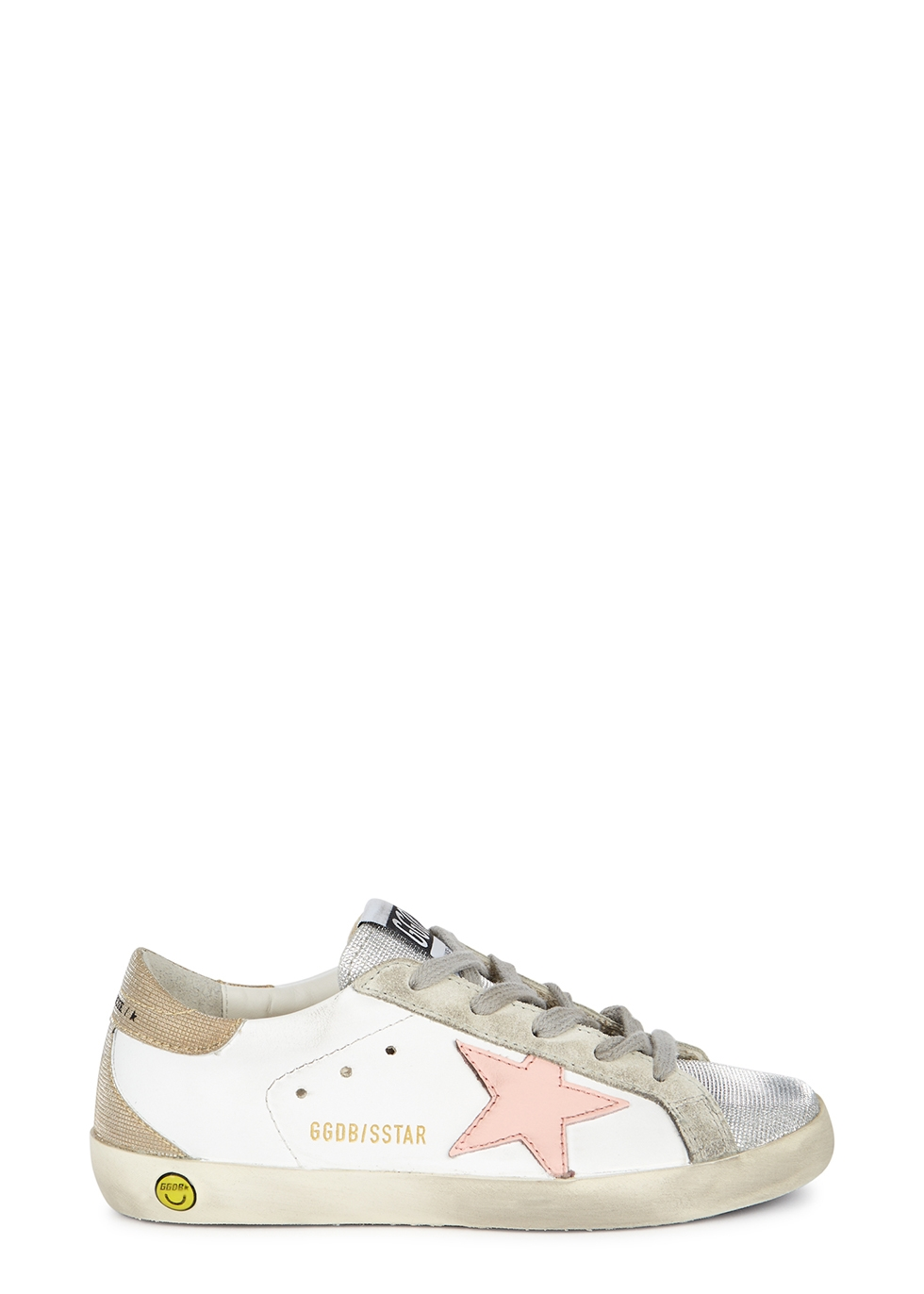 Superstar glittered leather sneakers (IT28-IT35)