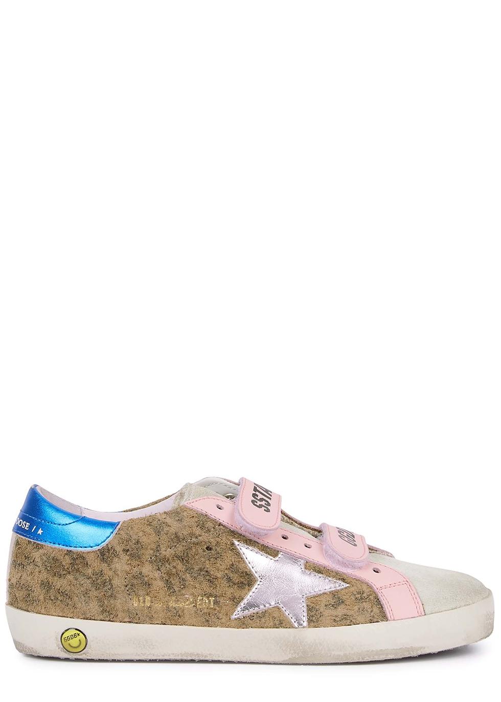 Old School panelled suede sneakers (IT28-IT35)