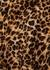 Venci leopard-print seersucker shirt - Nanushka
