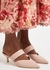Mia 45 light pink leather mules - Malone Souliers