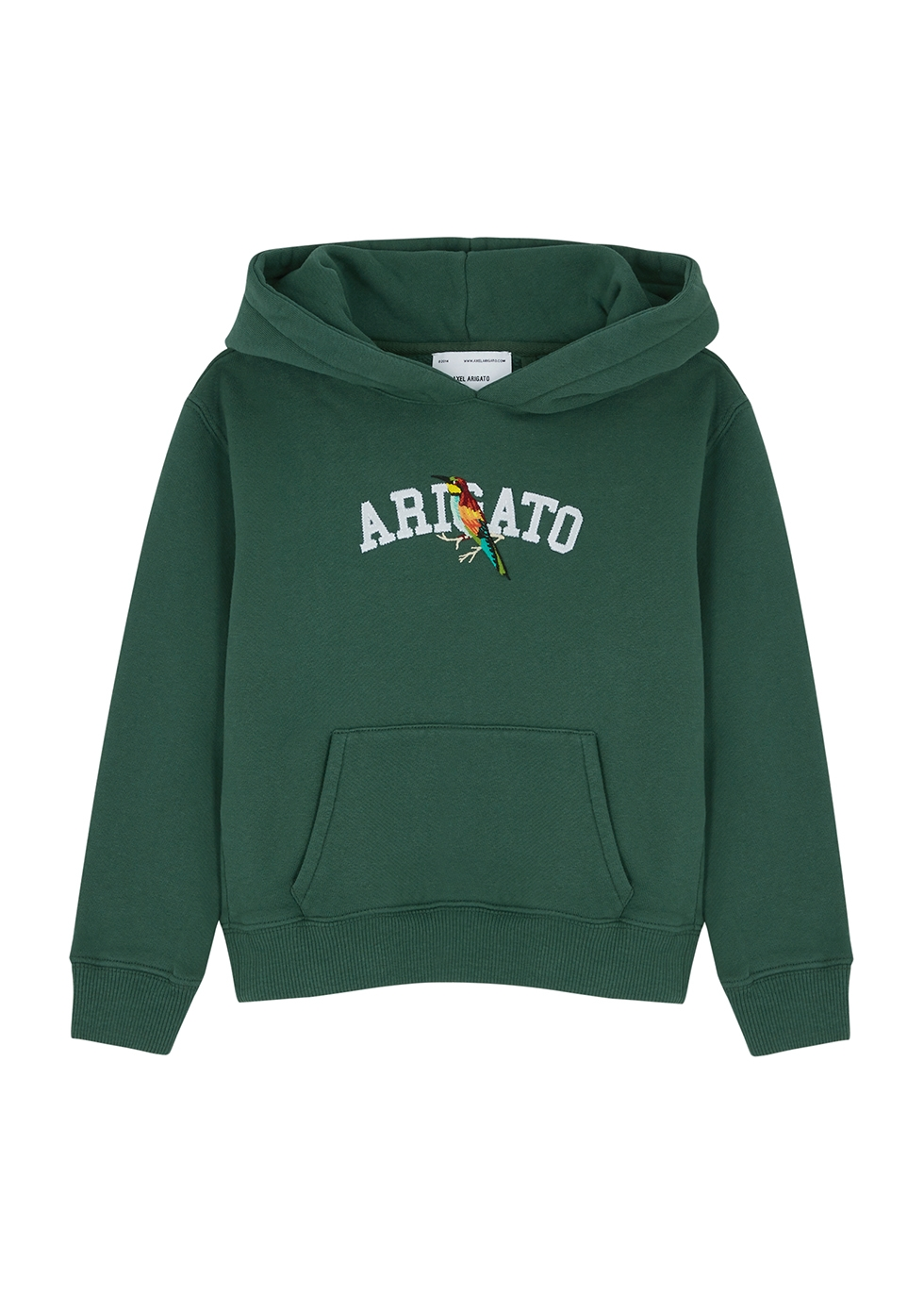 Bee Bird College hooded cotton sweatshirt