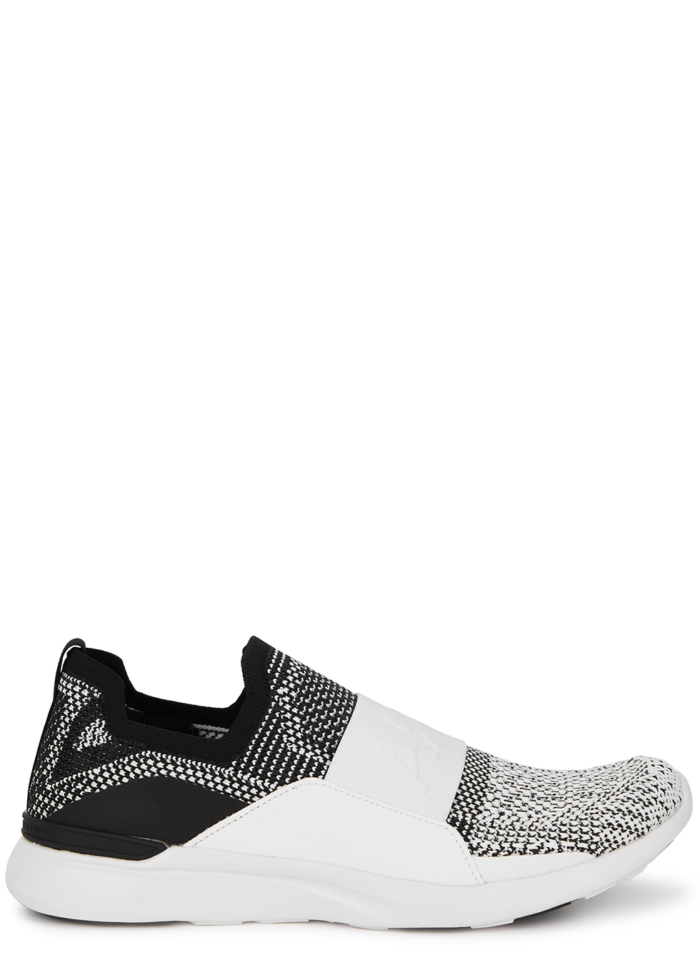 Techloom Bliss monochrome stretch-knit sneakers