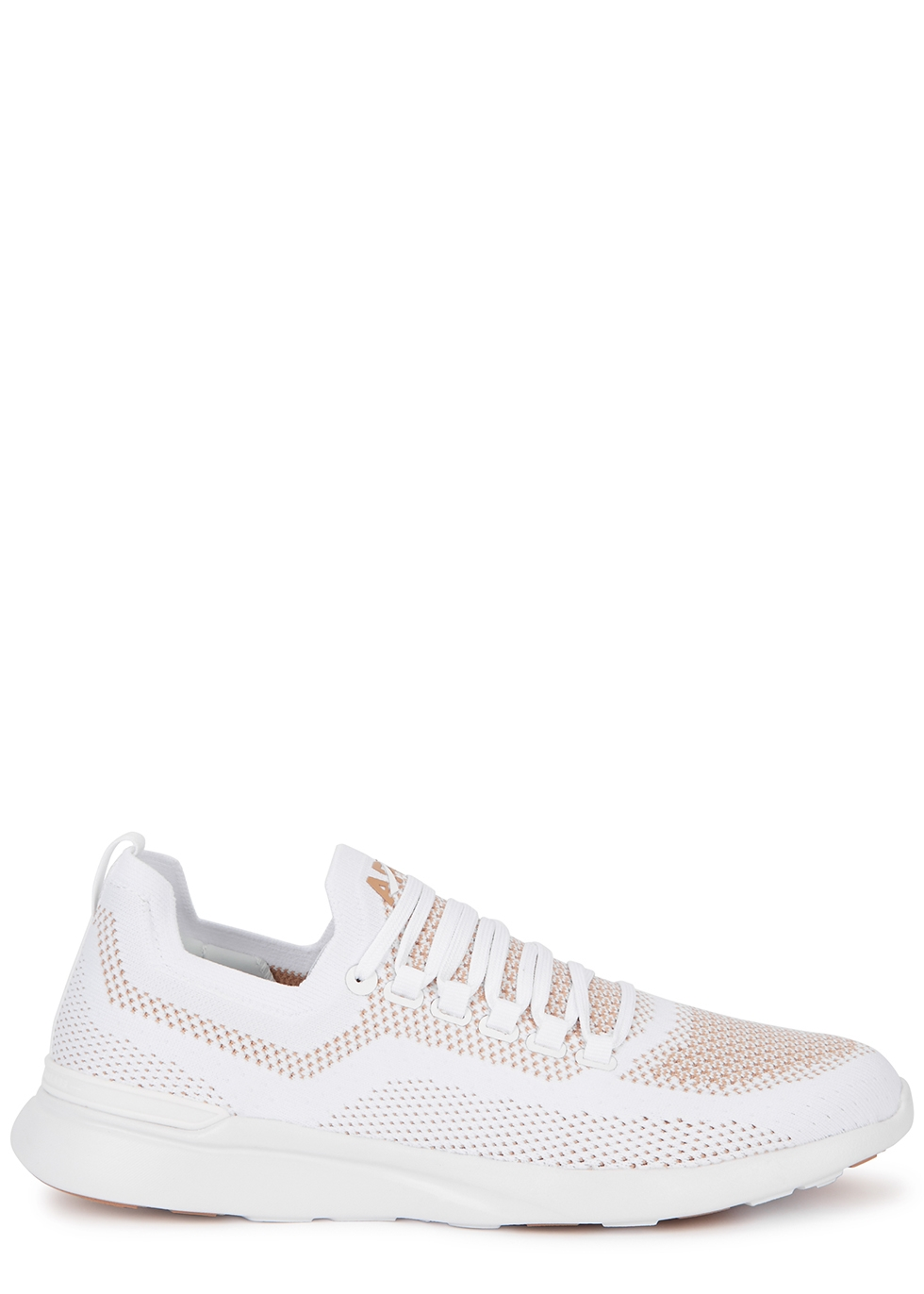 Techloom Breeze white knitted sneakers