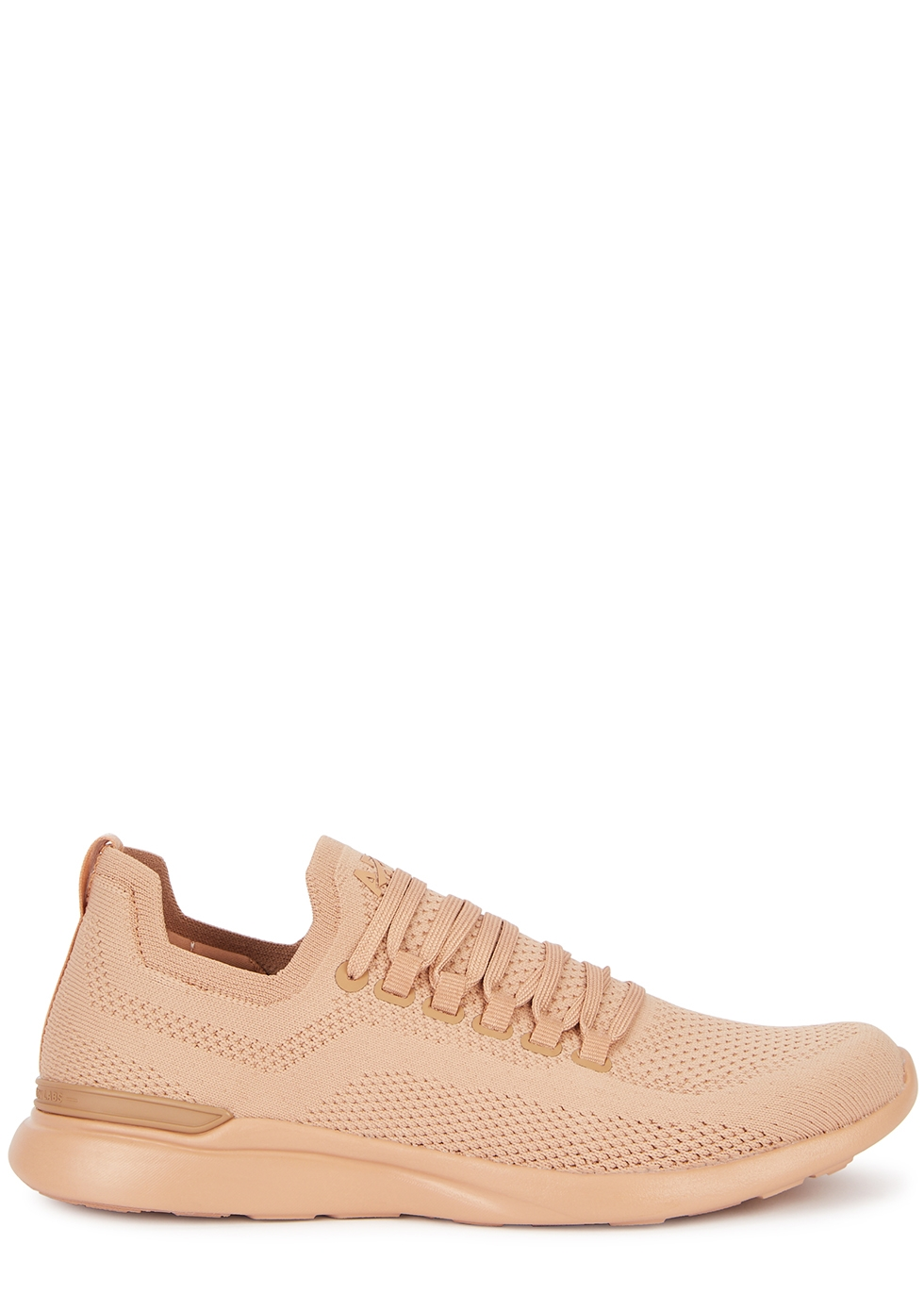 Techloom Breeze peach knitted sneakers