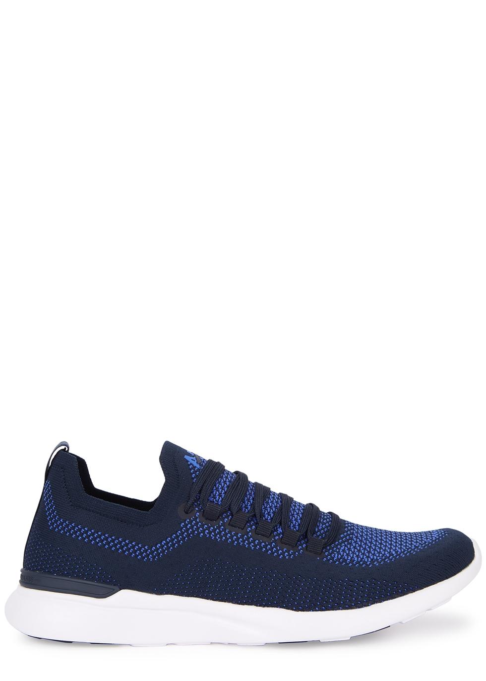 Techloom Breeze navy knitted sneakers