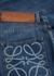 Blue logo tapered jeans - Loewe