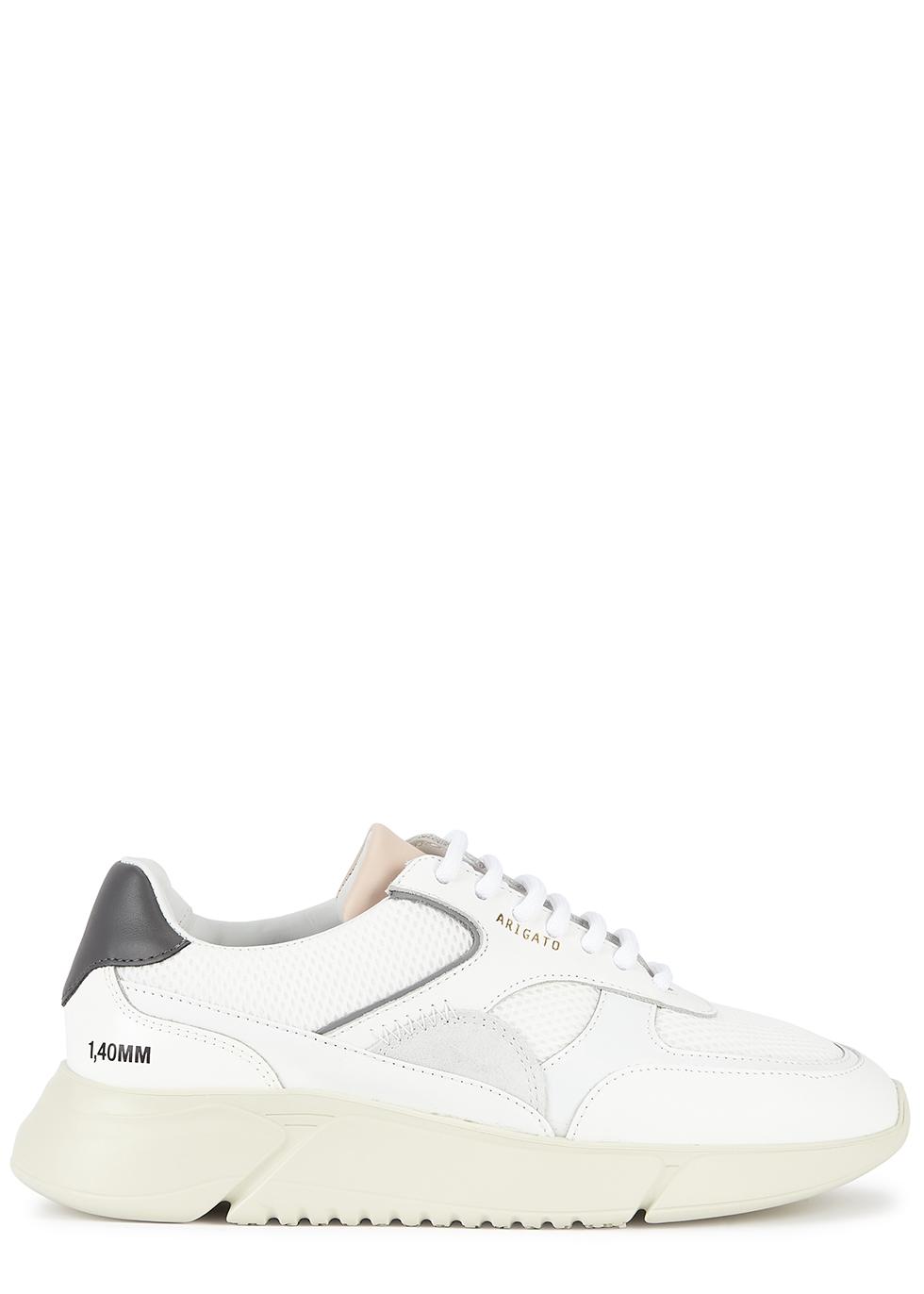 Genesis Vintage Runner white panelled sneakers