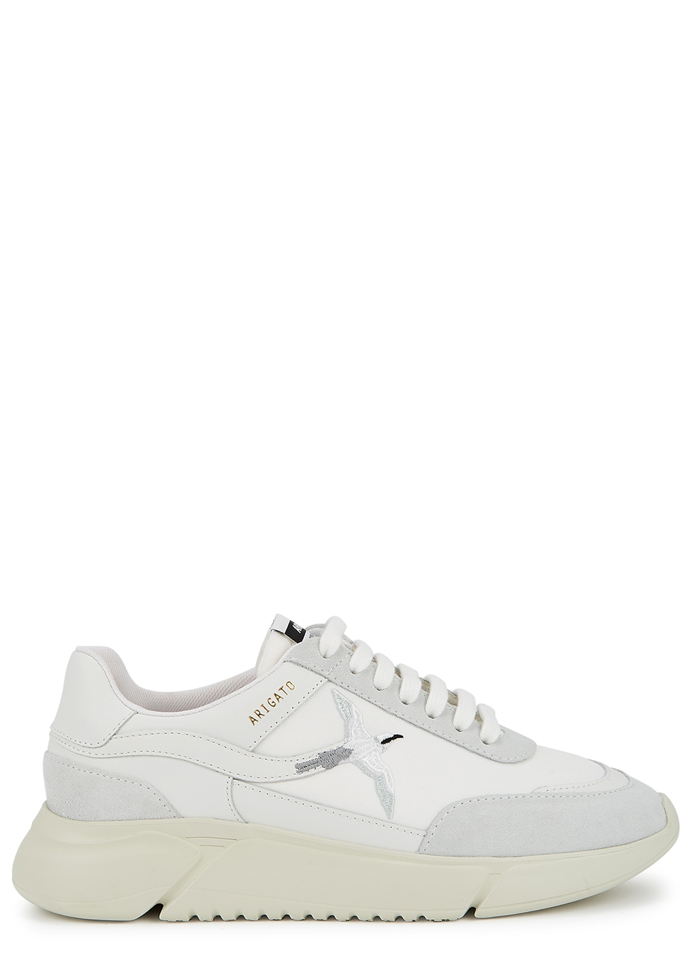Genesis bird-embroidered canvas sneakers