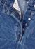 Pinel blue longline denim shorts - Dries Van Noten