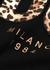 Black logo-appliquéd wool jumper - Dolce & Gabbana